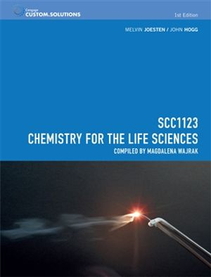 Bundle: CP0953 - SCC1123 Chemistry for the Life Sciences + OWL Notification Card