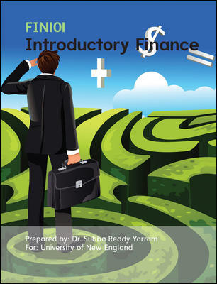 Cust Introductory Finance