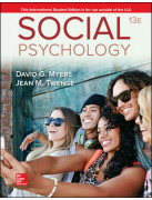 SOCIAL PSYCHOLOGY 13E