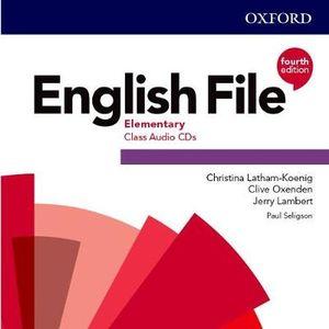 English File Elementary Class Audio CDs