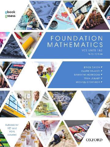 Foundation Mathematics Student book + obook assess