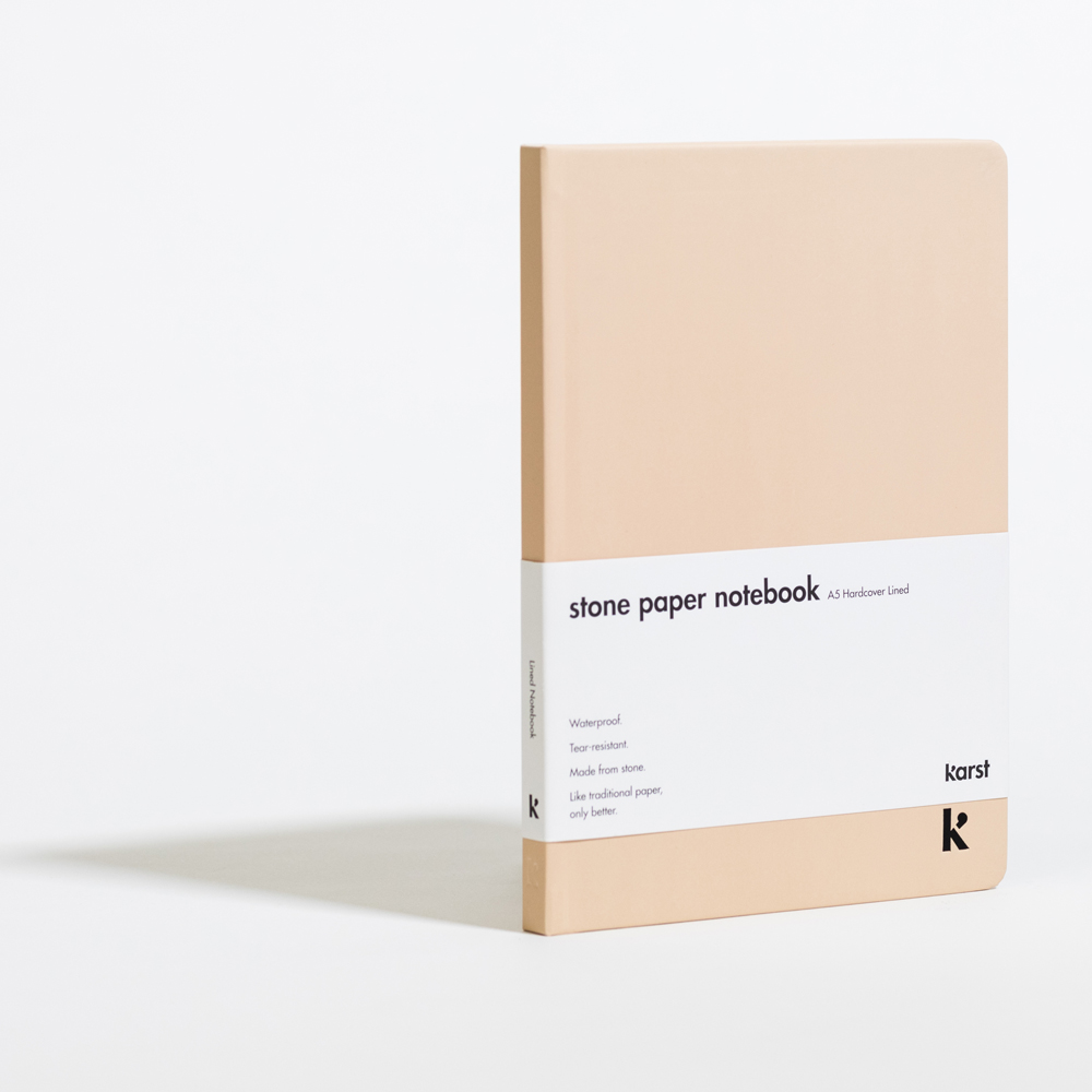 Lined Hardcover A5 Notebook Desert