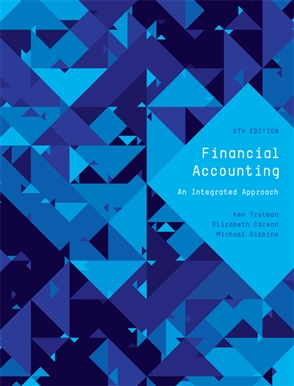 Financial Accounting: an Integrated Approach with Student Resource Access 12 Months