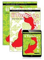 iiTomo 1 Student Book, eBook and Activity Book