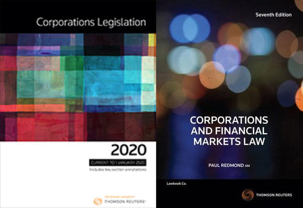 Corporations Legislation 2020 / Corporations and Financial Markets Law