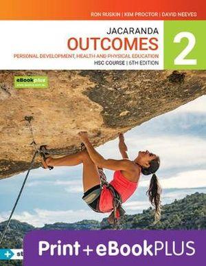 Jacaranda Outcomes 2 Personal Development, Health and Physical Education HSC 6e eBookPLUS & Print + StudyON HSC PDHPE 2e (Book Code)