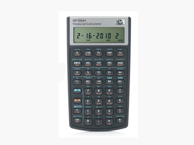 Hewlett-Packard Hp10Bii+ Financial Calculator