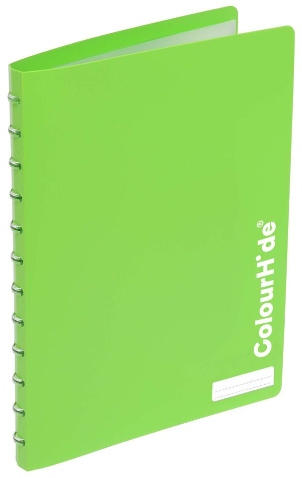 Colourhide My Custom (Refillable) Display Book Green
