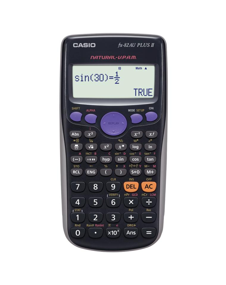 Casio FX-82AU Plus II Scientific Calculator
