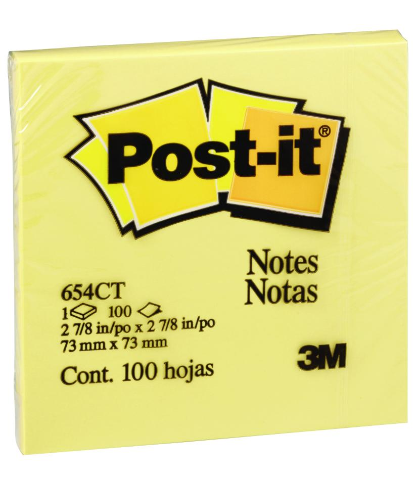 Post-It Notes 76mm X 76mm 12 Pack