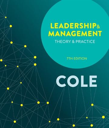 Leadership and Management: Theory and Practice with Online Study Tools 1 2 months