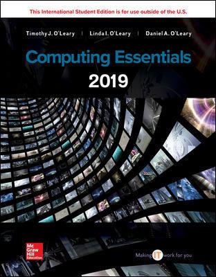 Computing Essentials 2019
