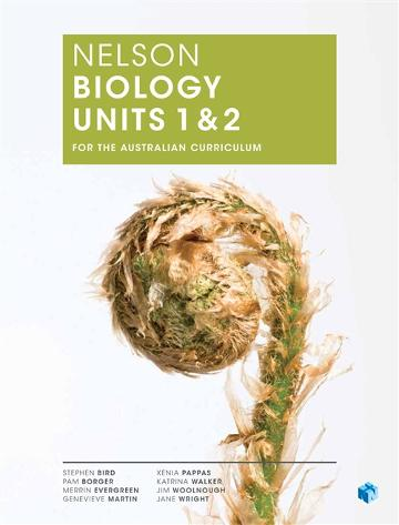 Nelson Biology Units 1 & 2 for the Australian Curriculum (Student Book  with 4 Access Codes)