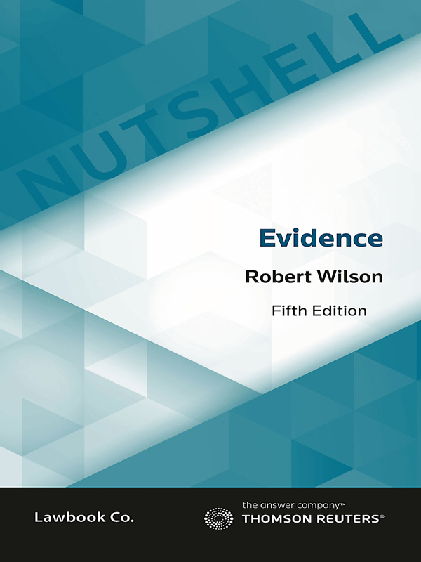 Nutshell: Evidence Law 5e