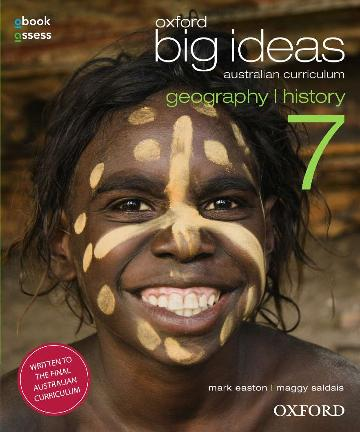 Oxford Big Ideas Geography/History 7 AC Student book + obook assess