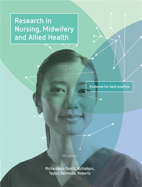 Research in Nursing, Midwifery and Allied Health: Evidence for Best Practice with Student Resource Access for 12 Months