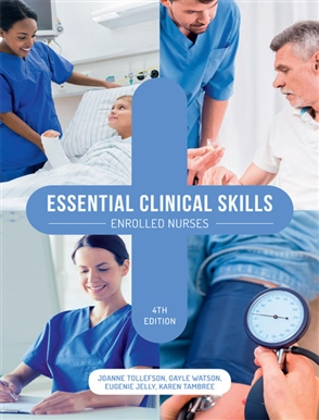 Essential Clinical Skills: Enrolled Nurses with Online Study Tools 12 Months