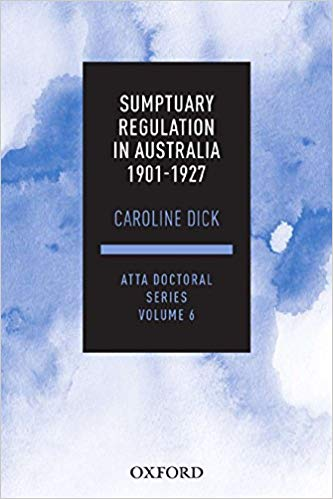 Sumptuary Regulation in Australia 1901-1927