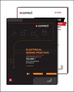 Electrical Wiring and Electrical Principles Pre-Apprentice, Volume 1, Blended Learning Package