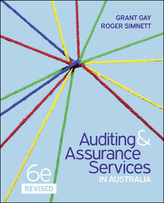 Auditing & Assurance Services in Australia Revised 6th ed + Connect Web Access Card