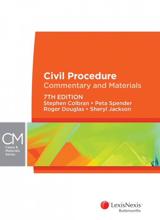 Civil Procedure: Commentary and Materials, 7th edition