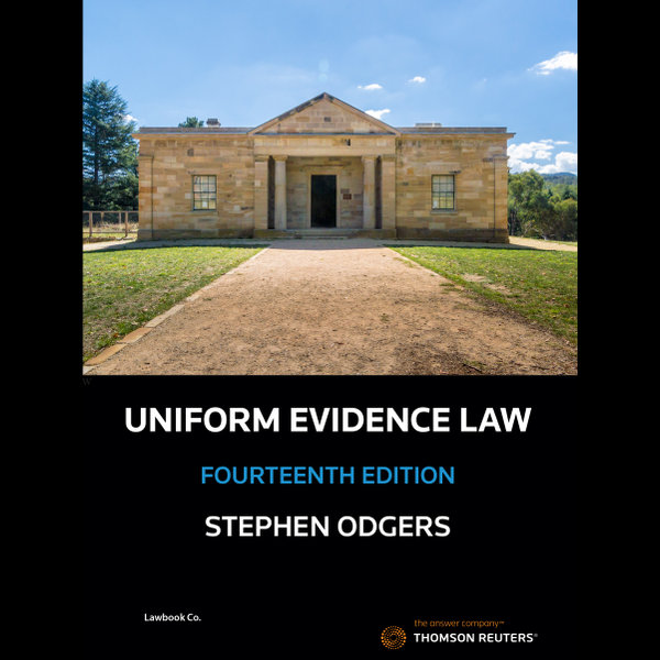 Uniform Evidence Law 14e - Book