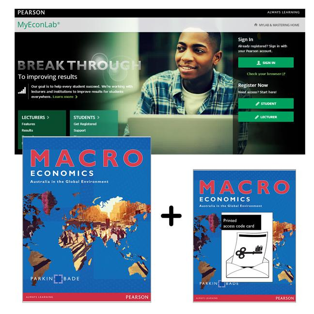 Value Pack Macroeconomics: Australia in the Global Environment + MyEconLab with eText