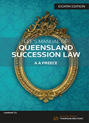 Lee's Manual of Qld Success Law 8e