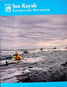 Sea Kayak Instructor Notebook #16414#