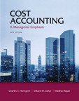 Cost Accounting Text (us Ed) + Myaccountinglab 14ed