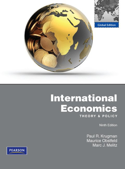 International Economics Global edition + MyEconLab (new copies only)