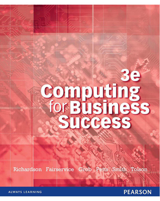 Computing Business Success + Student Access Card