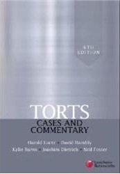 Torts Cases & Commentary eBook Access Card Luntz