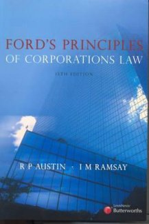 Ford's Principles of Corporations Law (Access card for eBook) Austin & Ramsay