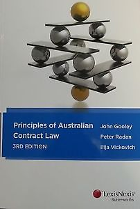 Principles of Australian Contract Law 2e + Principles of Australian Contract Law Cases & Materials 2e + LexisNexis Quest