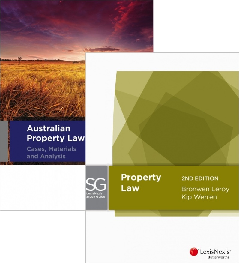 PROPL47 Pack- Australian Property Law 3E + LNSG Property Law 2E