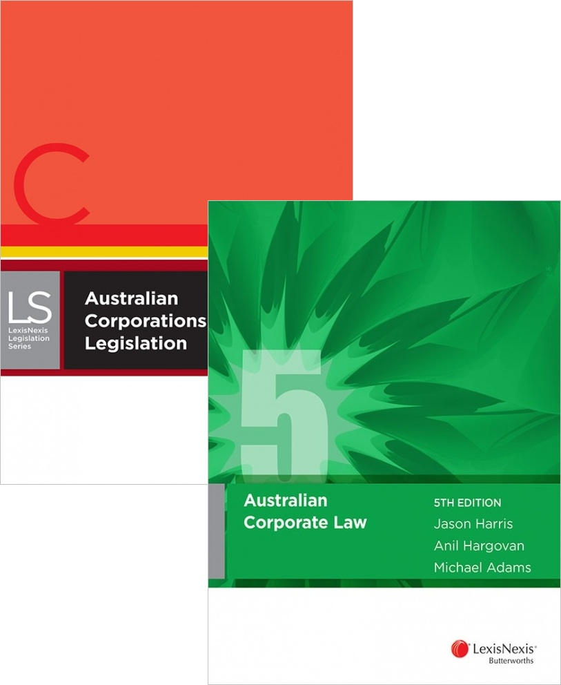CORP5S12016 - Australian Corporate Law 5E + Australian Corp Legislation 2016 (Student Edition)