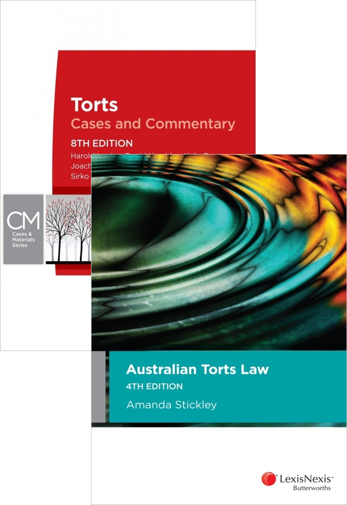 Australian Torts Law 4ED / Torts Cases And Commentary 8ED