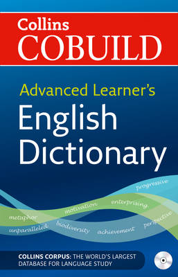 Collins COBUILD Advanced Learner's English Dictionary : Paperback with  CD-ROM