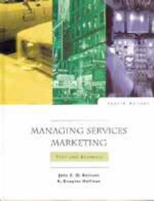 Managing Services Marketing: Text and Readings