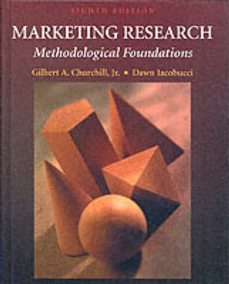 Marketing Research : Methodological Foundations