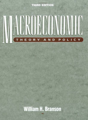 Macroeconomic Theory and Policy