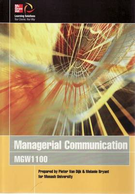 Cust Managerial Communication Mgw1100