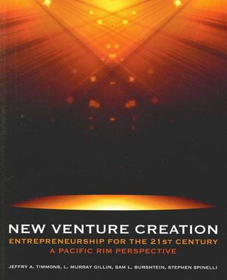 New Venture Creation: Asia Pac 1E
