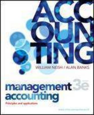 Management Accounting: Princ and Appln