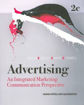 Advertising : An Integrated Marketing Communication Perspective