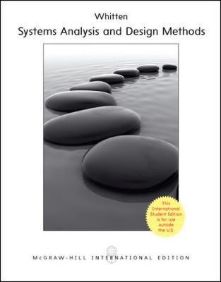 modern systems analysis Modern systems analysis and design, 7th edition jeffrey a hoffer, university of  dayton joey george, iowa state university joseph valacich, university of.