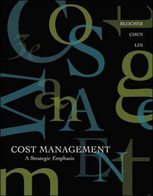 Cost Management: A Strategic Emphasis: WITH Online Learning Cente with PW Card