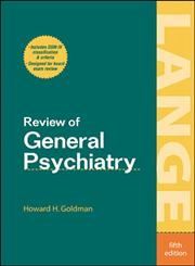 Review General Psychiatry