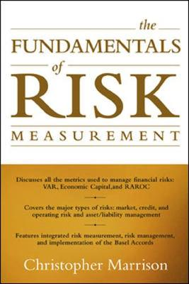 Fundamentals Of Risk Measurement